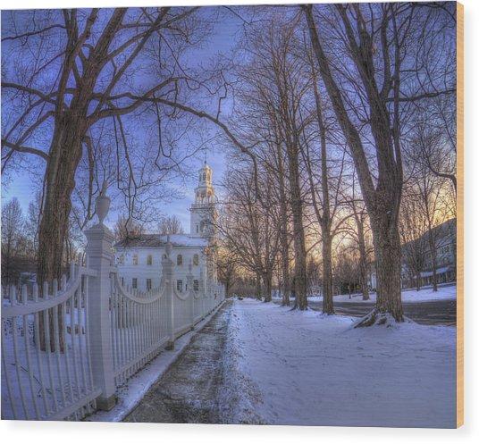 Old First Church - Bennington Vt. Wood Print