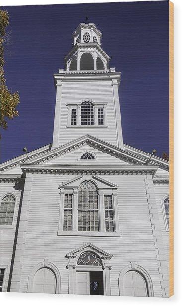 Old First Church Wood Print
