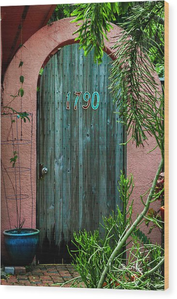 Old Florida 7 Wood Print