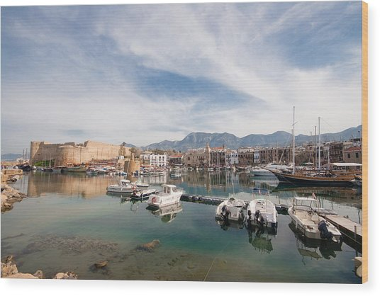 Old Harbour Of  Kyrenia 2 Wood Print