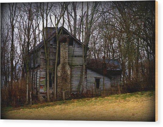 Old Kentucky Home Wood Print