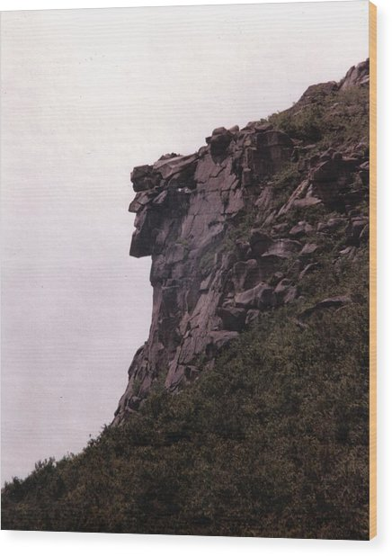 Old Man Of The Mountain Wood Print