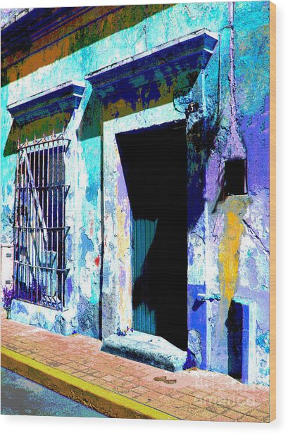 Old Paint By Darian Day Wood Print by Mexicolors Art Photography