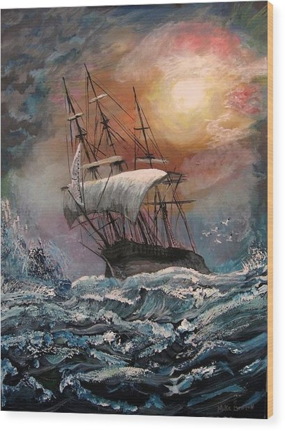 old Ship of Zion Wood Print