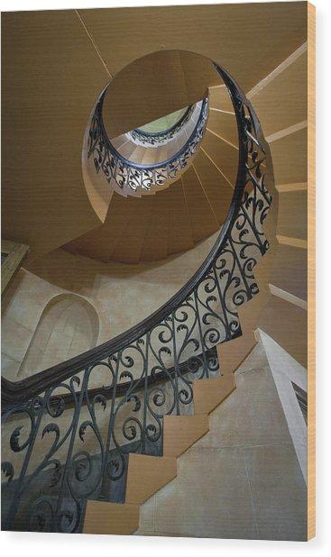 Old Stairway Wood Print