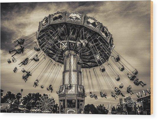 Old Tyme County Fair Wood Print