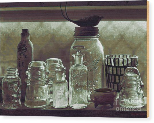 old west impressionism - Glass Ware VII Wood Print
