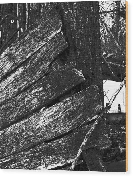 Olddoornextdoor16-18 Wood Print