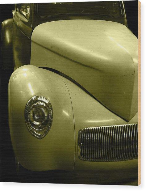 Oldie But Goldie Wood Print