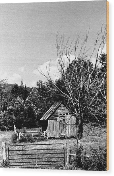 Oldshack Wood Print