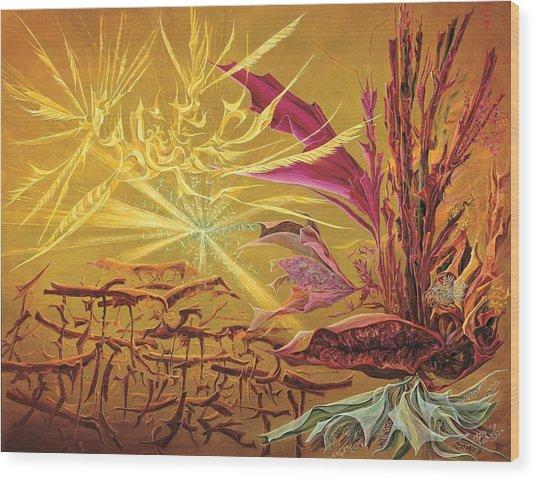 Olivier Messiaen Landscape Wood Print