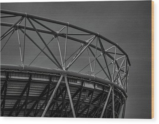 Olympic Stadium Wood Print