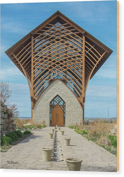 Omaha Holy Family Shrine Wood Print