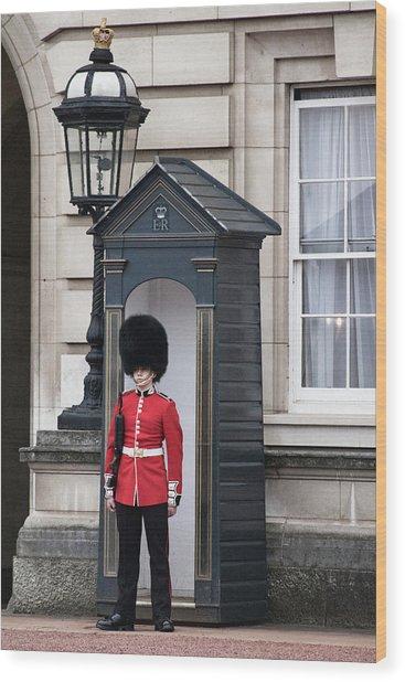 On Guard Wood Print