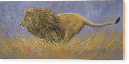On Target Wood Print by Lucie Bilodeau