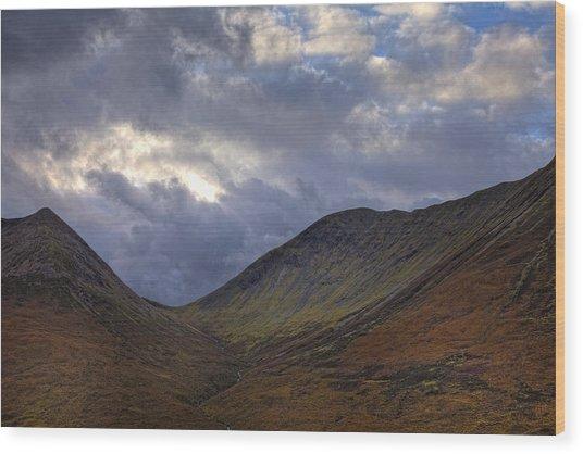 On The Isle Of Skye Wood Print by Jim Dohms