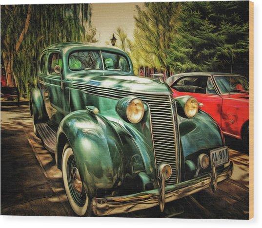 One Cool 1937 Studebaker Sedan Wood Print