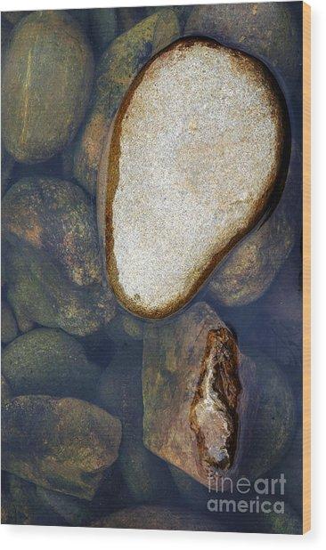 One Stone Wood Print