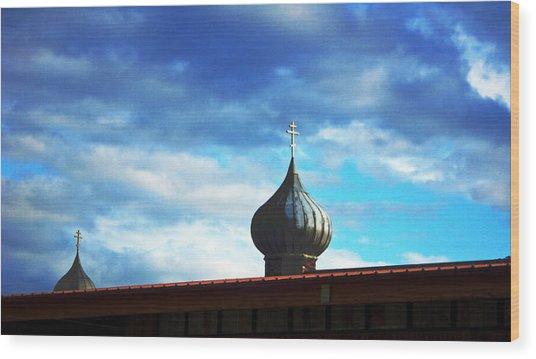 Onion Domes Wood Print