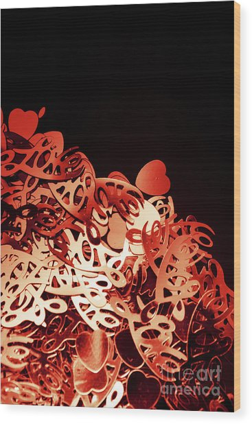 Only Love Wood Print