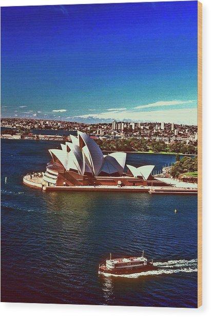Opera House Sydney Austalia Wood Print