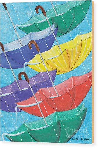Optimism  Wood Print by Kristi L Randall