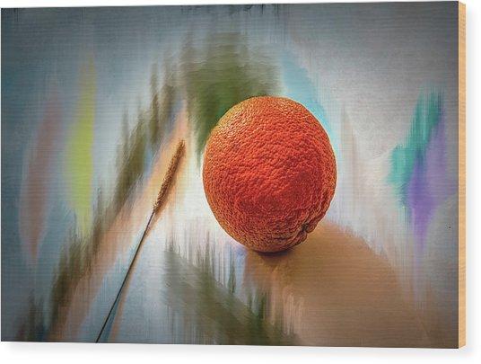 Orange #g4 Wood Print