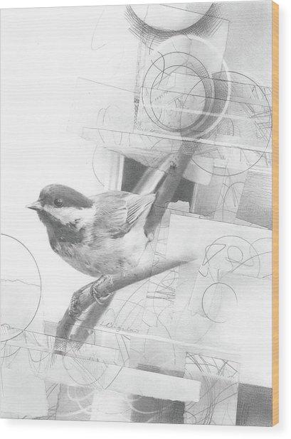 Orbit No. 2 Wood Print