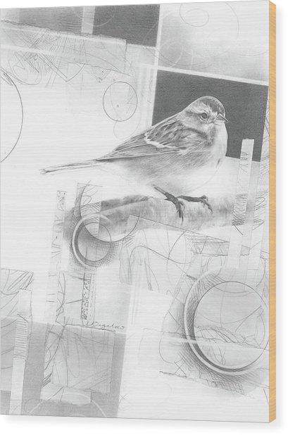 Orbit No. 1 Wood Print