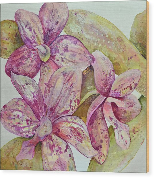 Orchid Envy Wood Print
