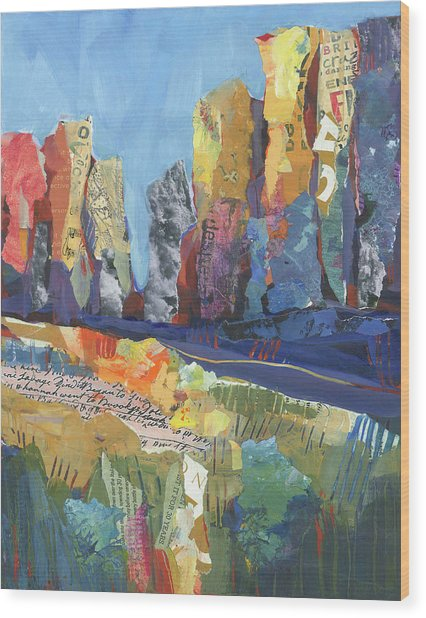 Oregon Canyon Wood Print