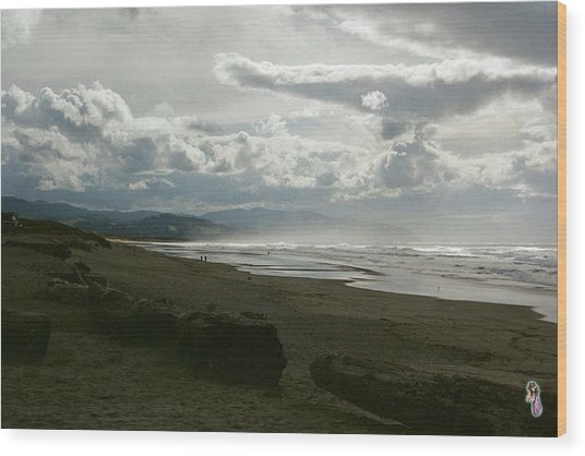 Oregon Coast 10 Wood Print