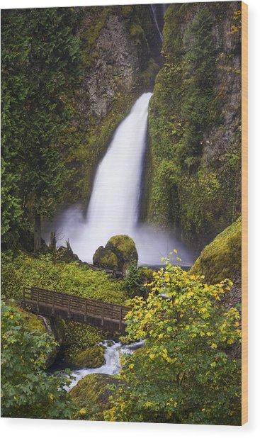 Oregon Trail Wood Print