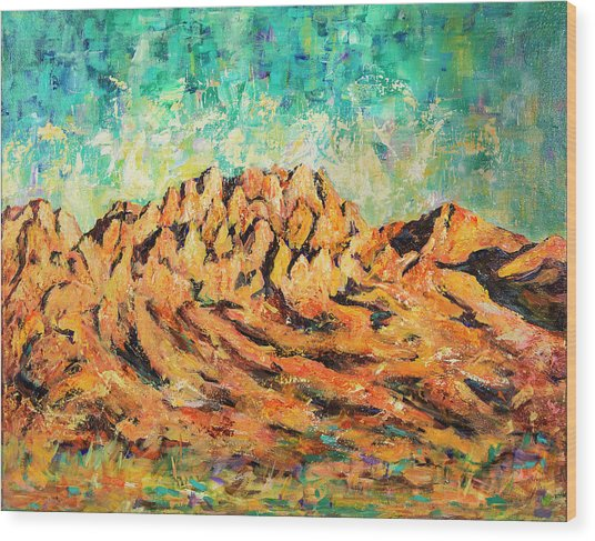 Organ Mountains IIi Wood Print