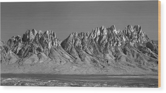 214878-organ Mountains Panorama     Wood Print