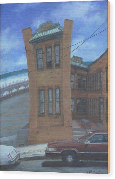 Oriental Avenue Wood Print