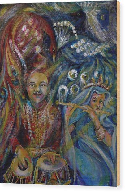 Oriental Fairy Tale.part Two Wood Print