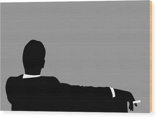 Original Mad Men Wood Print