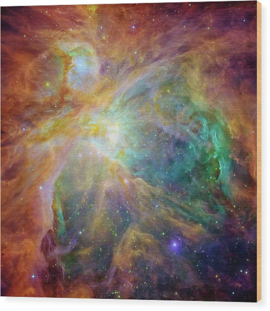 Orion Nebula Wood Print