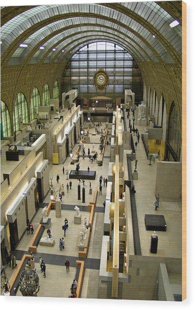 Orsay Museum Wood Print
