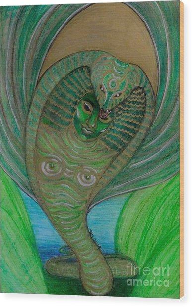 Wadjet Osain Wood Print