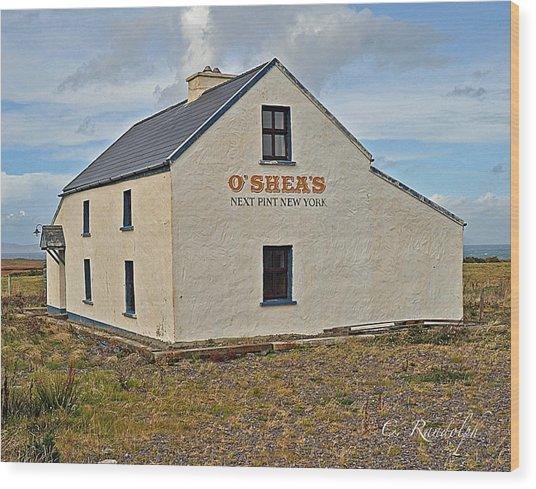 O'shea's Wood Print
