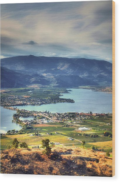 Osoyoos Lake 2 Wood Print