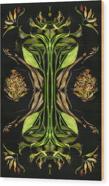 Otra Vez Wood Print