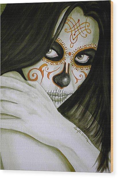 Otro Dia Triste Sin Ti  Wood Print