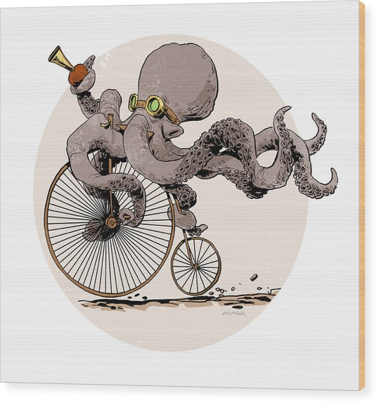 Otto's Sweet Ride Wood Print