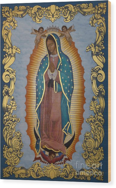 Our Lady Of Guadalupe - Lwlgl Wood Print