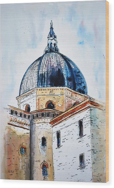 Our Lady Of Loreto I Wood Print by Neva Rossi
