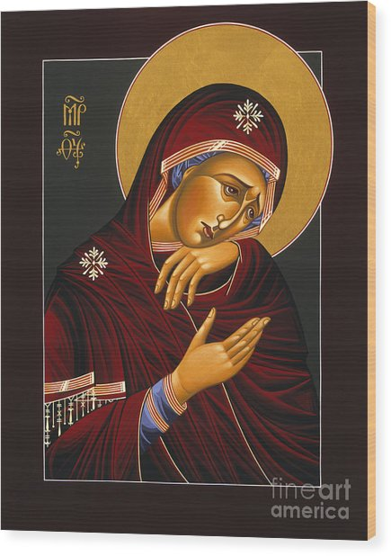 Our Lady Of Sorrows 028 Wood Print