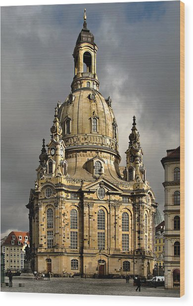 Our Lady's Church Of Dresden Wood Print